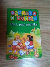Kniha říkadla s puzzle,