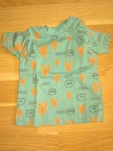 Modré tričko, nutmeg,56