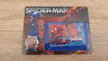 Hodinky + peněženka spiderman - sada č.2,