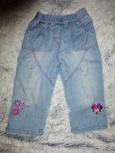 Zateplené džíny minnie, h&m,86
