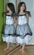 Karnevalové šaty víla i čarodějnice,