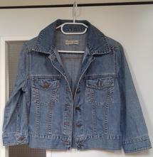 (52) dámská/dívčí riflová bunda., 158