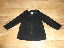 Černý kabátek na holku 5let, old navy,116