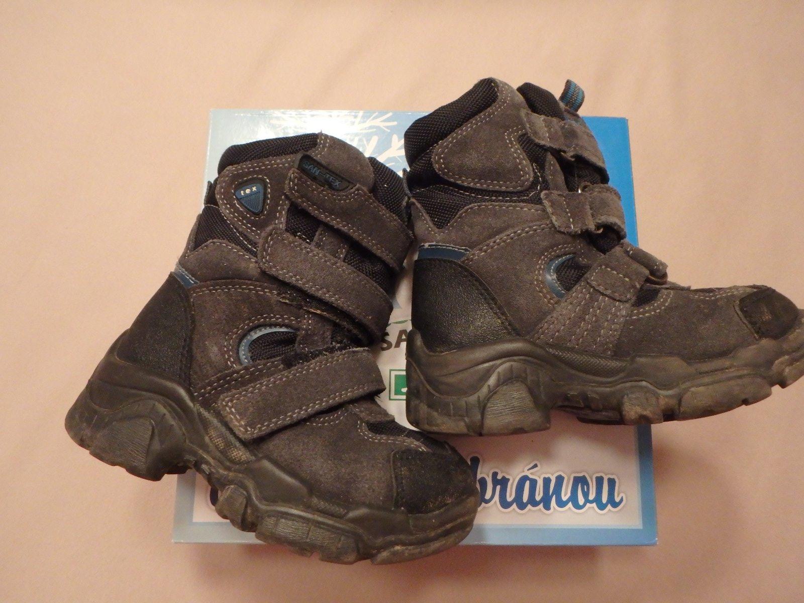 a5fd328635f6 Zimní boty santé s membránou