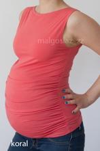 Těhotenský top s lodičkovým výstřihem - více barev, m / s