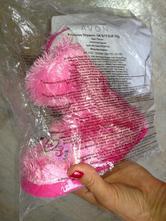Nové bačkory princess slippers vel. 27/28 růžová, 27