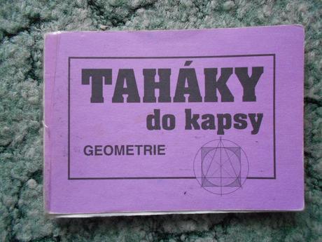 Taháky do kapsy - geometrie,