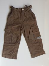 F249chlapecké plátěné podšité kalhoty, kiki&koko,98