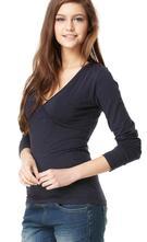 Kojící a těhotenské tričko amy - vel. s, m,