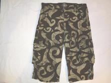 Exkluzivní pevné 3/4 kalhoty - kapsáče, h&m,170