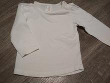 Bílé triko, baby club,74