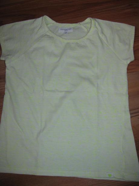 Triko krátký rukáv,,reserved, reserved,116