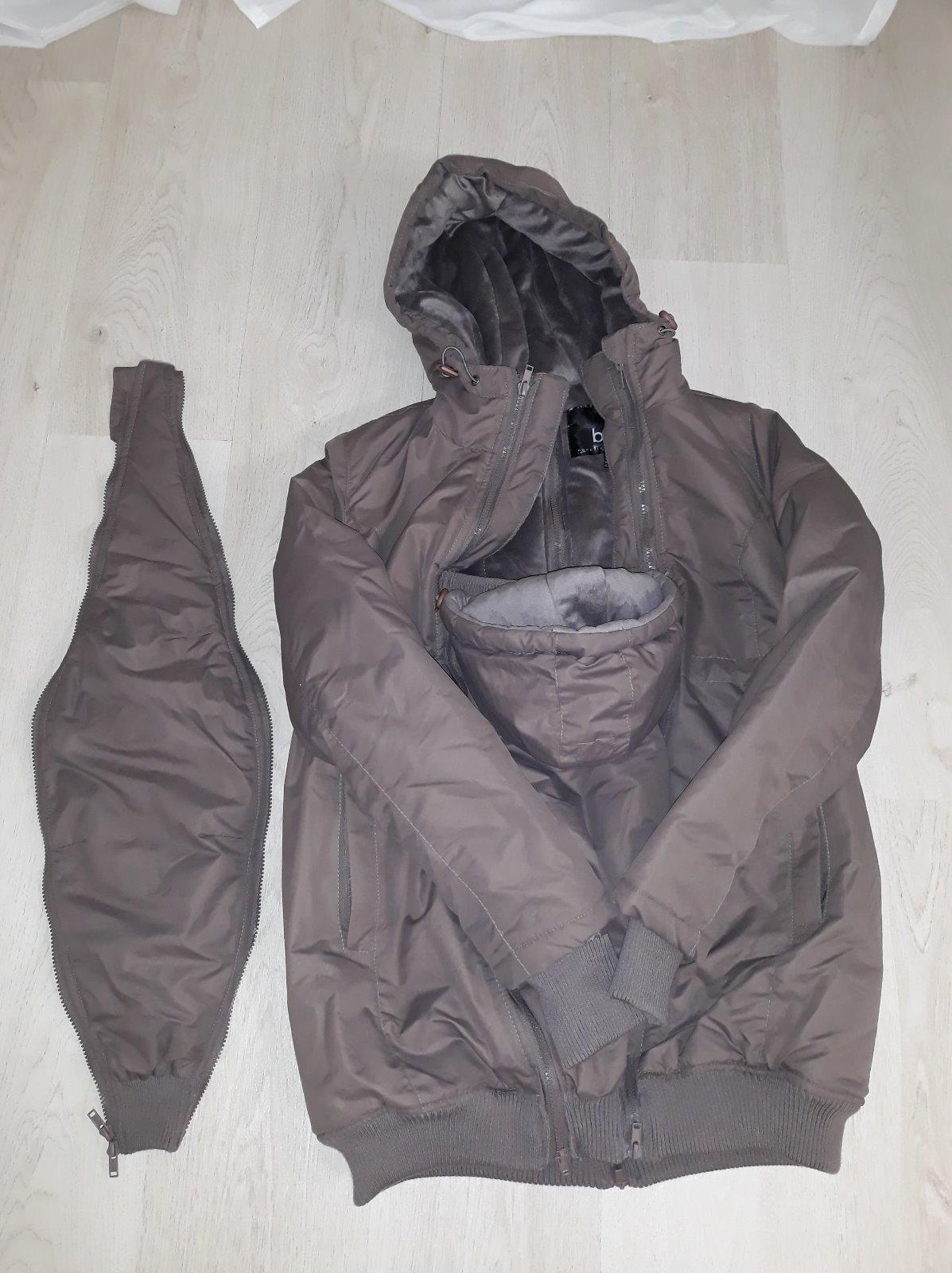 b45a331cd645 Těhotenská a nosící bunda - podzim zima