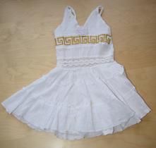 Šaty bílé řecké, zn. jooly boon, 104