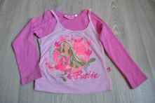 Barbie tričko s vrstveným efektem, barbie,98