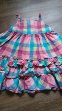 Pěkné kostkované šaty, marks & spencer,98