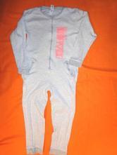 Luxusní pruhovaný bavlněný overal - pyžamo, c&a,134