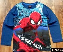 Luxusní tričko spiderman,bez známek nošení, lindex,122