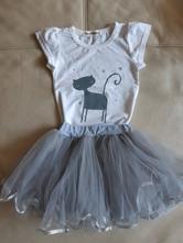 Dívčí komplet s tutu sukní vel. 80/86, 80
