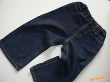 Tmavomodré jeansy džíny rifle, l.o.g.g.,92