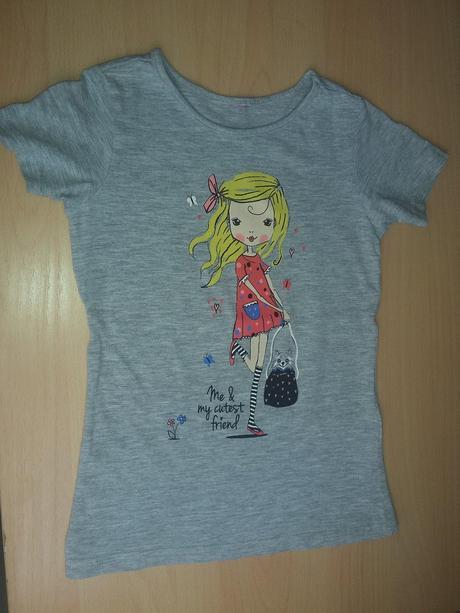 Tričko s holčičkou, dopodopo,98