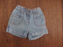 Džínové šortky, george,98