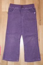 Fialové manžestrové kalhoty, cherokee,104