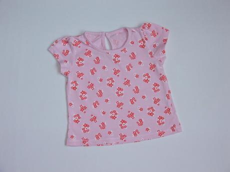 W61 tričko s květy vel. 74, matalan,74