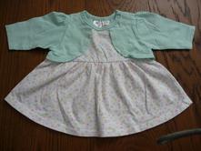 Bavlněné šaty s bolerkem, ergee,50