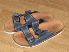 Kožené domácí pantofle, santé,35