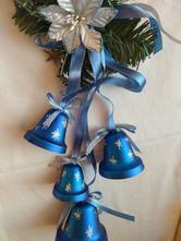 Vánoční ozdoby - zvonečky,