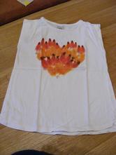 Dívčí triko bez rukávů vel. 110, zara,110
