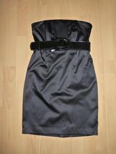 Černé korzetové šaty  f&f, s