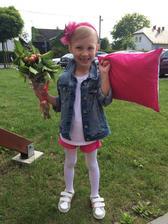 Vystoupení ze školky na den matek ❤️Třída od Viki měla vystoupení s polštářkama