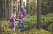 Softshellový kabát pro mámu i dceru na přání, 68 - 188