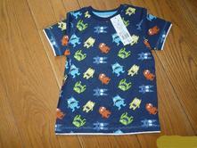 Nenošené tričko  kr.rukáv, f&f,116