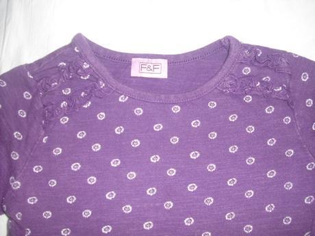 Fialové triko 18 - 24 m, f&f,92