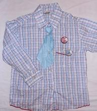 G147. košile s kravatou 5-6 let, cherokee,116