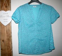 Modrá košile xl, c&a,44