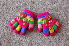 Teplé rukavičky vel.2/5let, 98