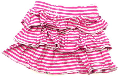 Proužkatá sukně s volánky, marks & spencer,86