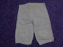 Bílé 3/4 kalhoty se srdíčky lindex, vel. 98/104, lindex,98