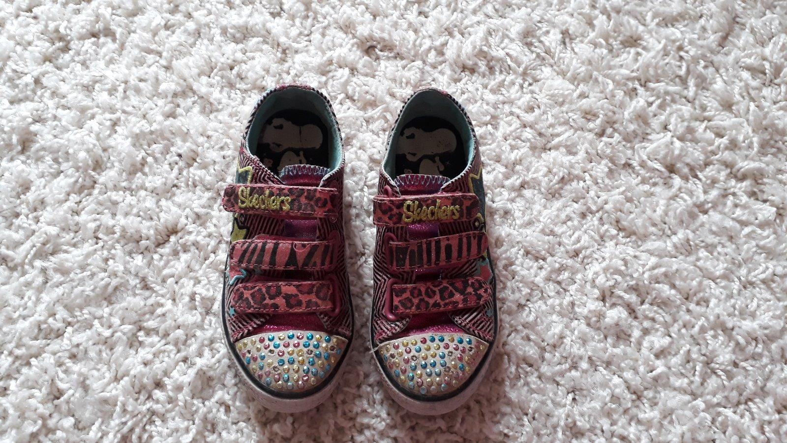 Blikající boty s kamínky b55689e65b