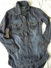 Džinová košile, vingino,140