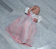 Společenské slavnostní šaty družička 9-12 měsíců, bhs,80