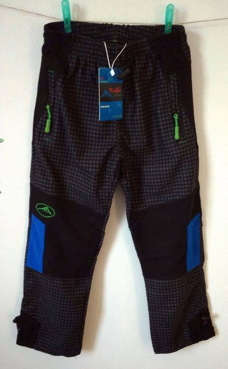 Chlapecké outdoorové kalhoty šedé , kugo,128