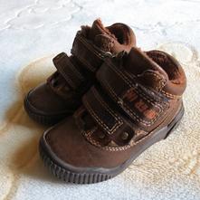 Zimní (podzimní) botky boty vyteplené 23, 23