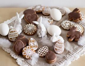 Povidly plněné perníčky s čokoládou