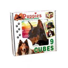 Skládací obrázkové kostky puppies, dle obrázku,