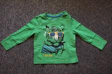 Zelené triko s tygrem, lupilu,92